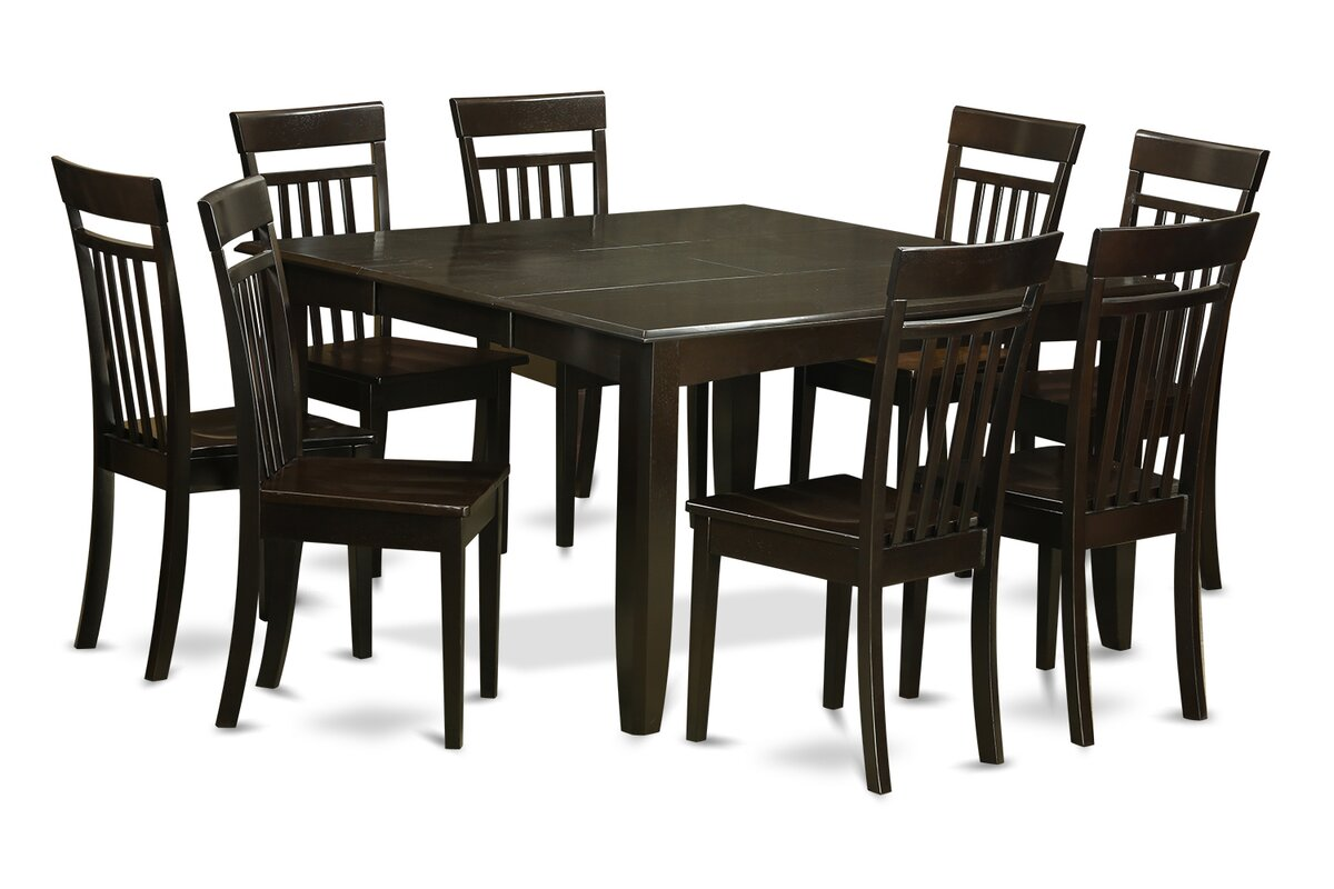 east west parfait 9 piece dining set reviews wayfair 9 piece kitchen dining room sets sku ewfr2097 default name