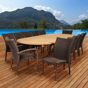 Elsmere 13 Piece Teak Dining Set