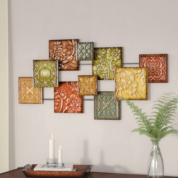Three Posts Hodges Square Panel Wall Décor & Reviews