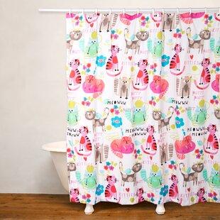 Purrty Cat Shower Curtain