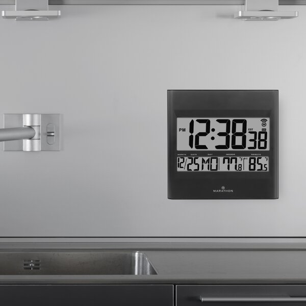 Outdoor Digital Atomic Clock Wayfair