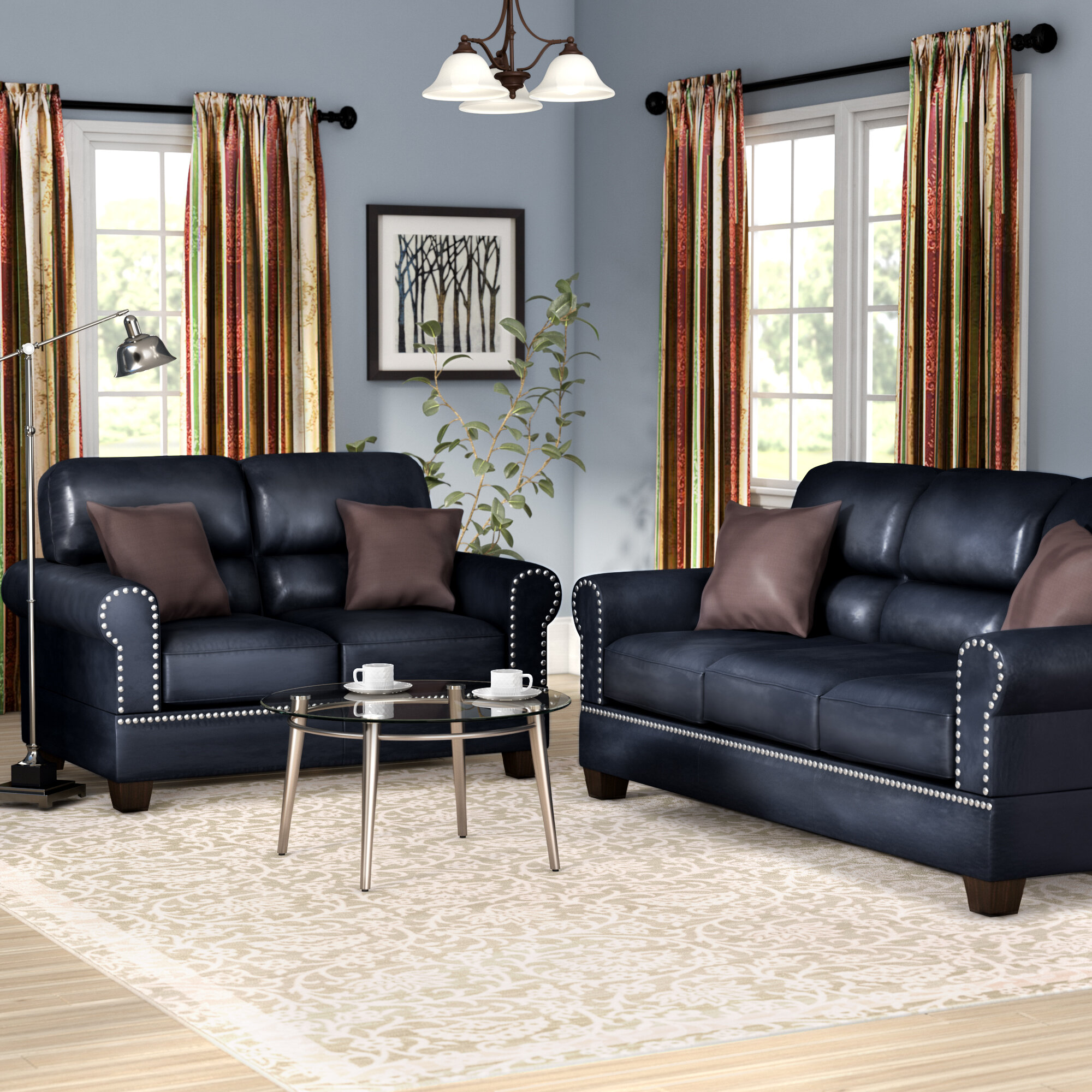 Charlton home boyster 2 piece living room set reviews wayfair