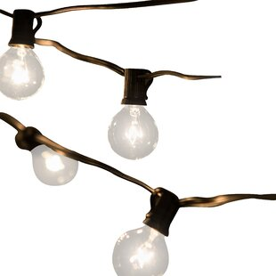 Outdoor vintage string lights wayfair save mozeypictures Choice Image