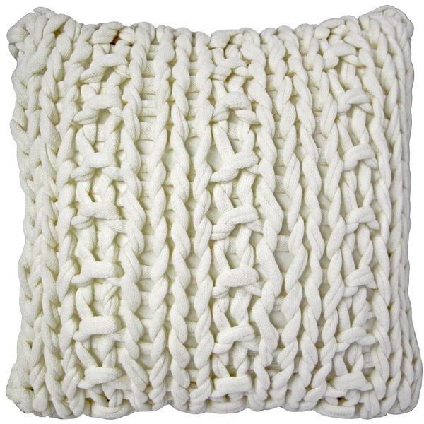 Chunky Knit Pillow Wayfair
