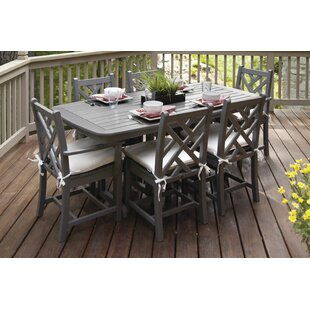 Chippendale 7 Piece Dining Set With Cushions By Polywood