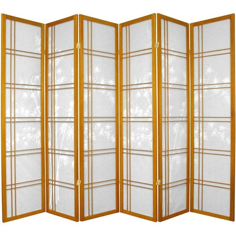 World Menagerie Lynn Shoji Room Divider Wayfair