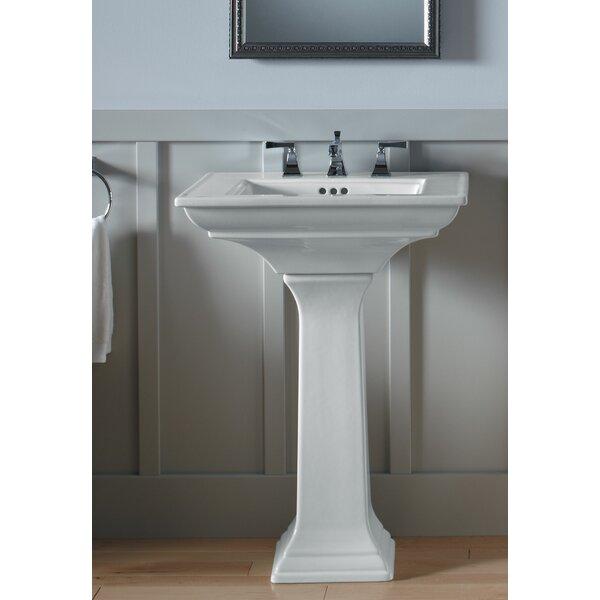 pedestal bathroom sinks. Kohler Memoirs  Ceramic 25 Pedestal Bathroom Sink with Overflow Reviews Wayfair