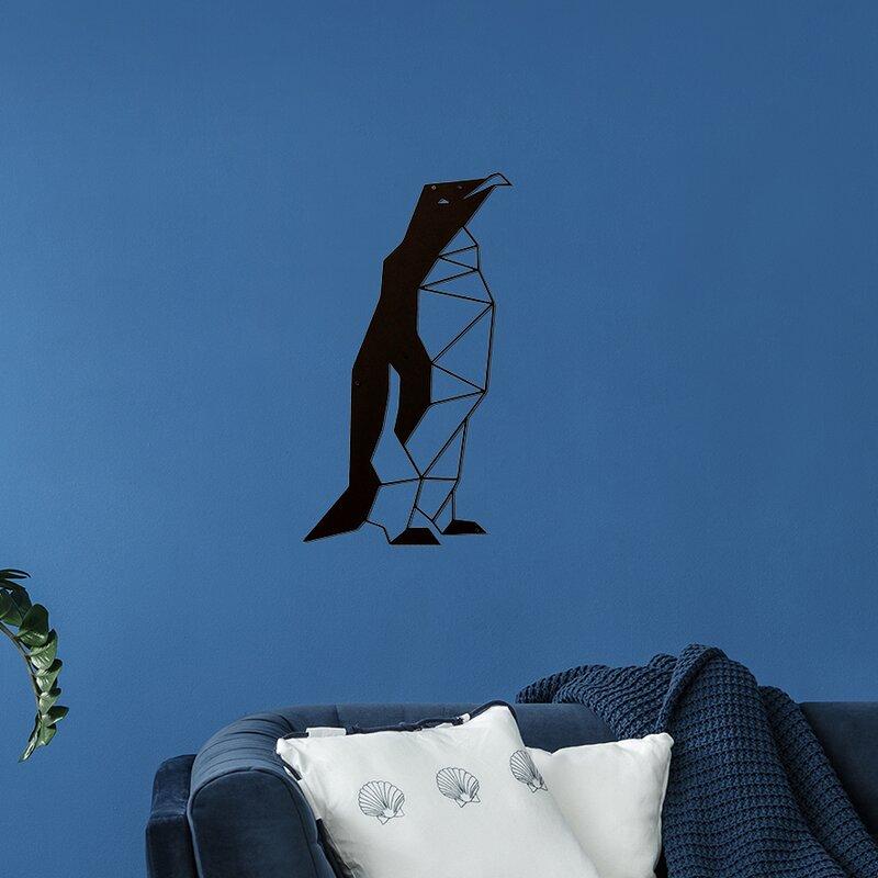 Ebern Designs Penguin Wall Decor | Wayfair