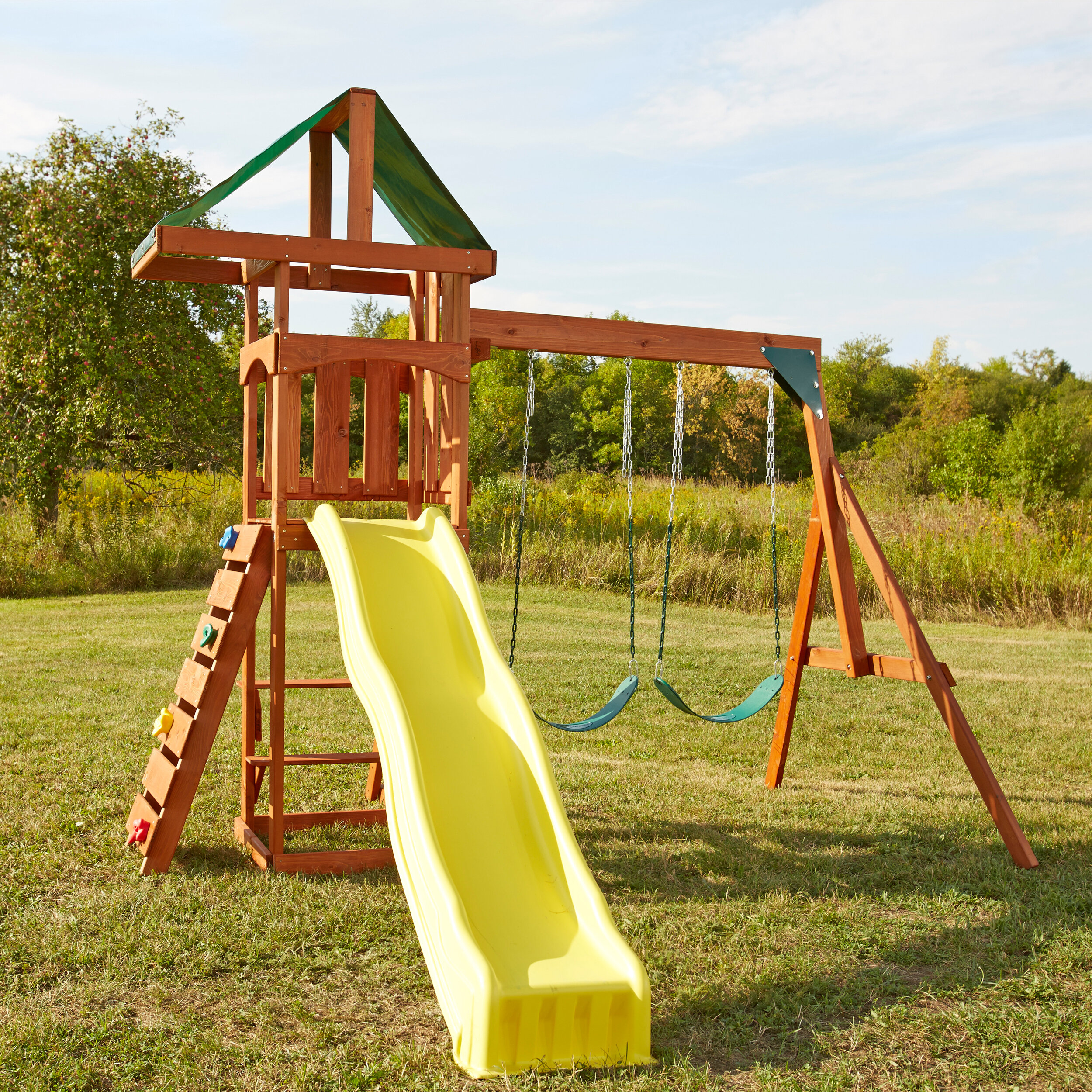 da50d23b12e Swing-n-Slide Play Set Scrambler Swing Set   Reviews