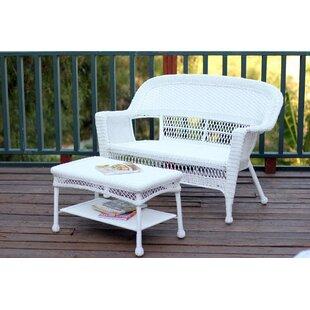 Off White Leather Sofa Set | Wayfair