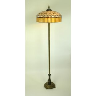 blue tiffany lamps lights style lamp floor parrotuncle lake dragonfly of amazing