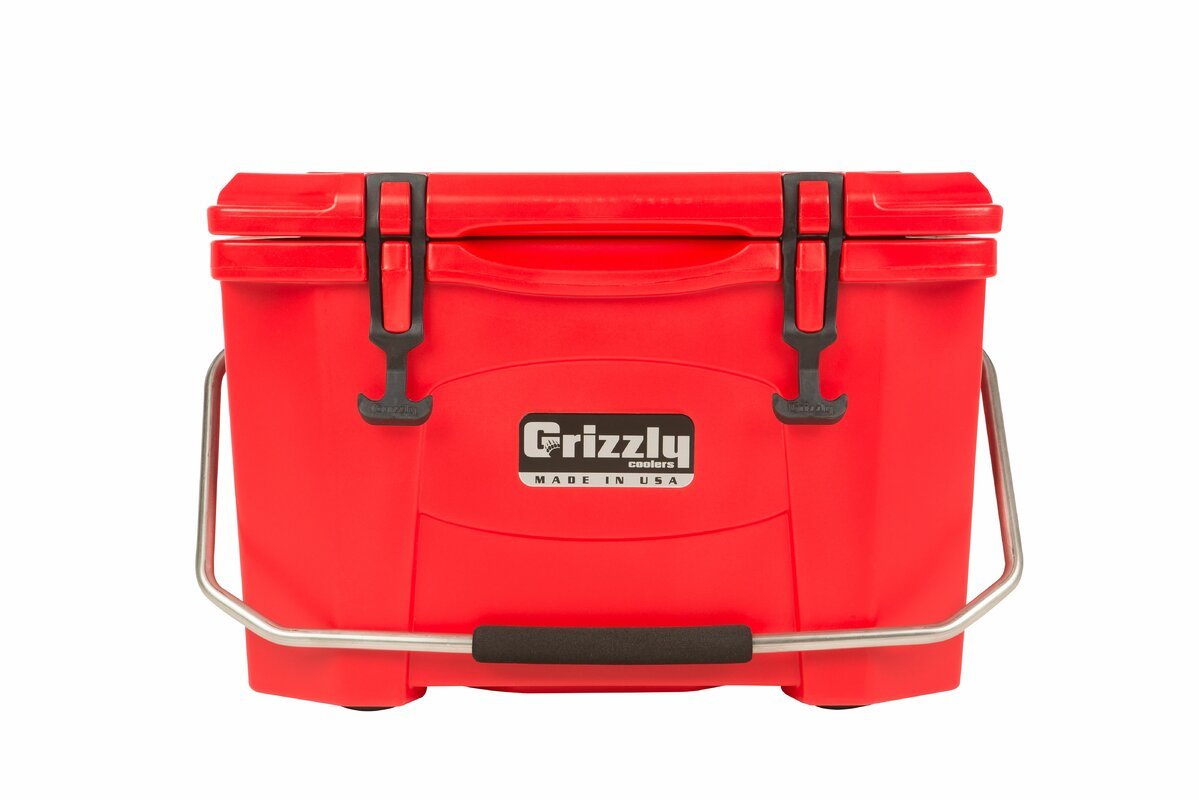 grizzly coolers 20 qt rotomolded cooler u0026 reviews wayfair