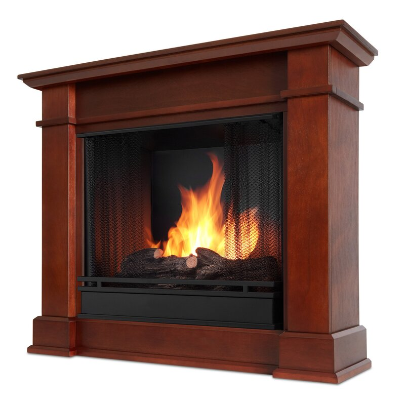 fuel ventless fireplace wall austin recessed bio ethanol gel inch p in mounted built