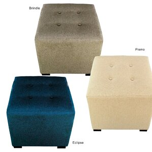 Merton Dawson7 Upholstered Cube Ottoman by MJL Furniture