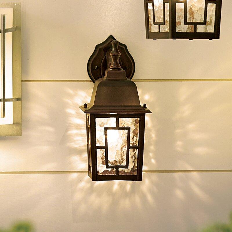 Charlton Home Timmons 1-Light Outdoor Wall Lantern & Reviews | Wayfair