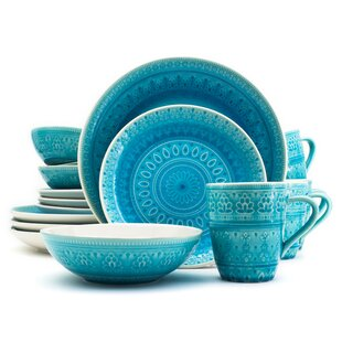 Save  sc 1 st  Wayfair & Turquoise Dinnerware | Wayfair