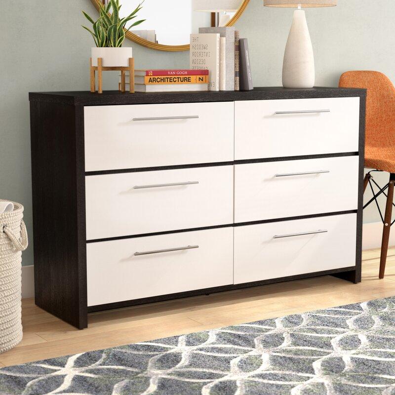 Clarkedale 6 Drawer Double Dresser