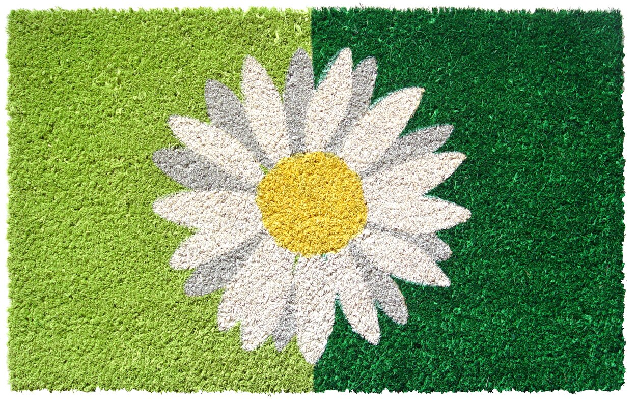 Sweet Home One Daisy Doormat