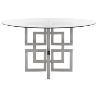 Petree Glass Top Dining Table