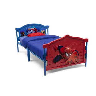 Marvel Spider Man 3 D Twin Convertible Toddler Bed