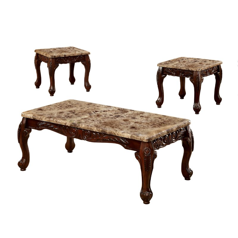 Hokku Coffee Table Sets: Astoria Grand Albertus 3 Piece Coffee Table Set & Reviews