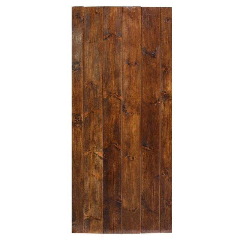 Z-Bar Solid Wood Room Divider Pine Slab Interior Barn Door  sc 1 st  Wayfair & Calhome Z-Bar Solid Wood Room Divider Pine Slab Interior Barn Door ...