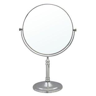 Lighted tabletop vanity mirror wayfair save aloadofball Image collections