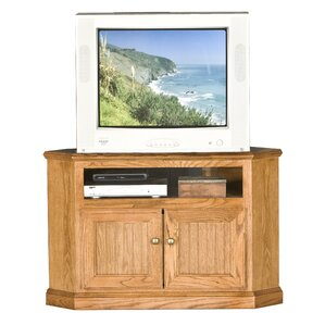 Didier Wood Corner TV Stand by World Menagerie