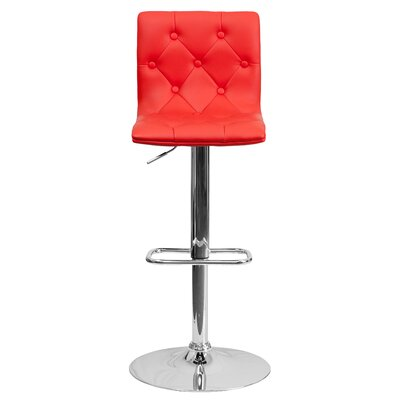 Leather Metal Adjustable Bar Stools You Ll Love In 2019