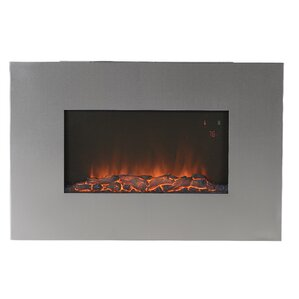 Yawen Wall Mount Electric Fireplace by Orren Ellis