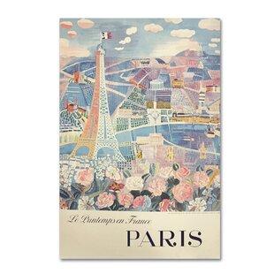 Bon U0027Printemps Parisu0027 Wall Art On Wrapped Canvas