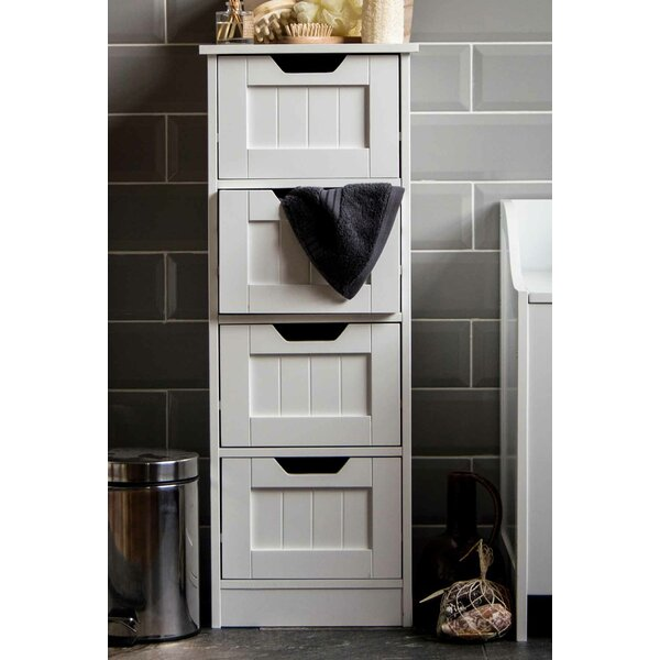 bathroom free standing cabinet wildon home vida 30 x 81cm free standing cabinet amp reviews 11495