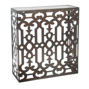 Yousra End Table by Bungalow Rose