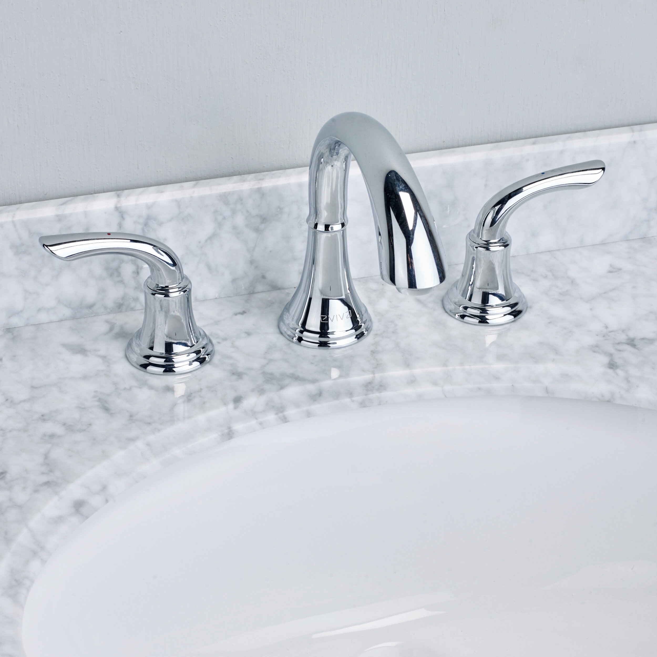 Eviva Friendy® Deck Mount Widespread Bathroom Faucet | Wayfair