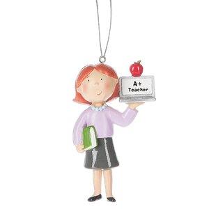 Teacher Hanging Figurine