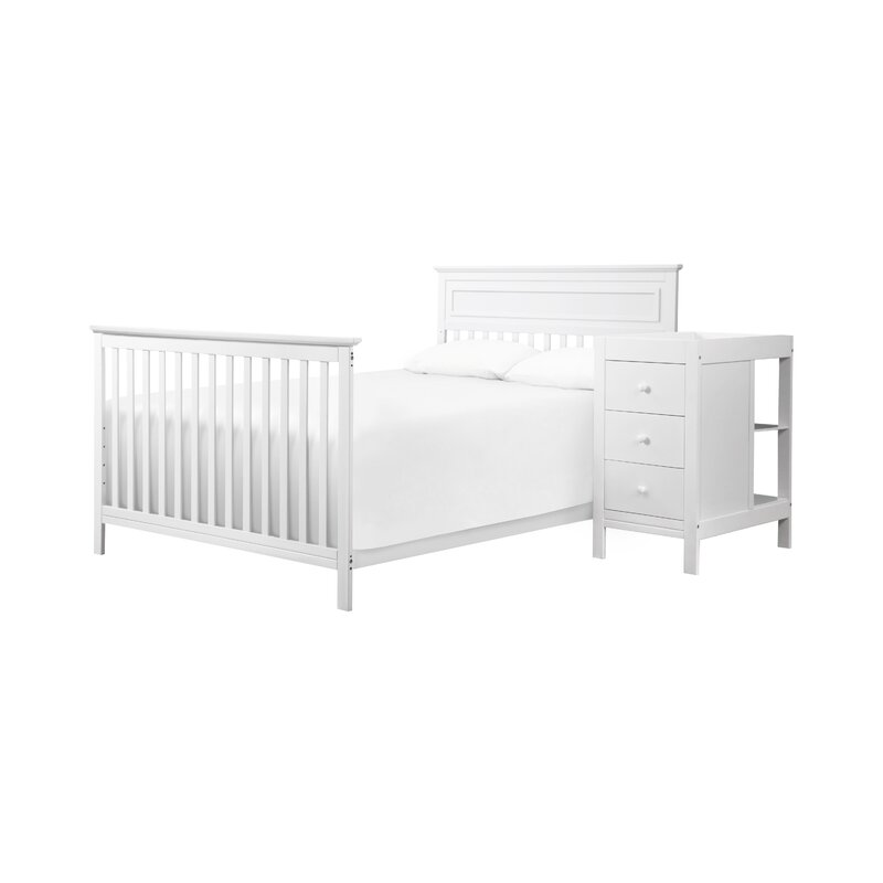 75773a781e5cd DaVinci Autumn 4-in-1 Convertible Crib and Changer Combo   Reviews ...