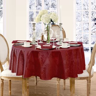 Round Tablecloths Youu0027ll Love | Wayfair