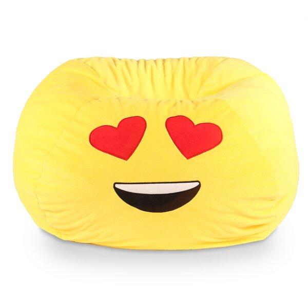 Ace Casual Furniture Gomoji Emoji Heart Eyes Bean Bag