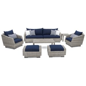Shelby 8 Piece Deep Seating Group With Cushion