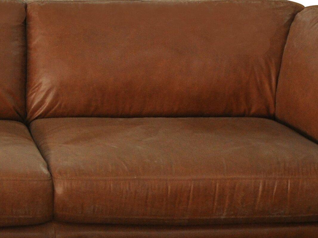 Condron 3 Seater Leather Sofa
