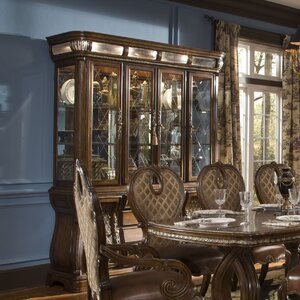 Sovereign Lighted China Cabinet