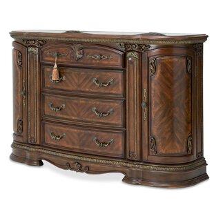 Bella Veneto 4 Drawer Combo Dresser