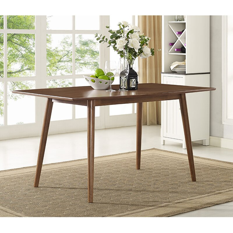 Superior Gust Mid Century Dining Table Nice Ideas