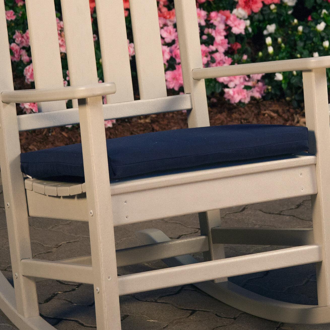 Ateeva Indoor/Outdoor Sunbrella Seat Cushion U0026 Reviews | Wayfair