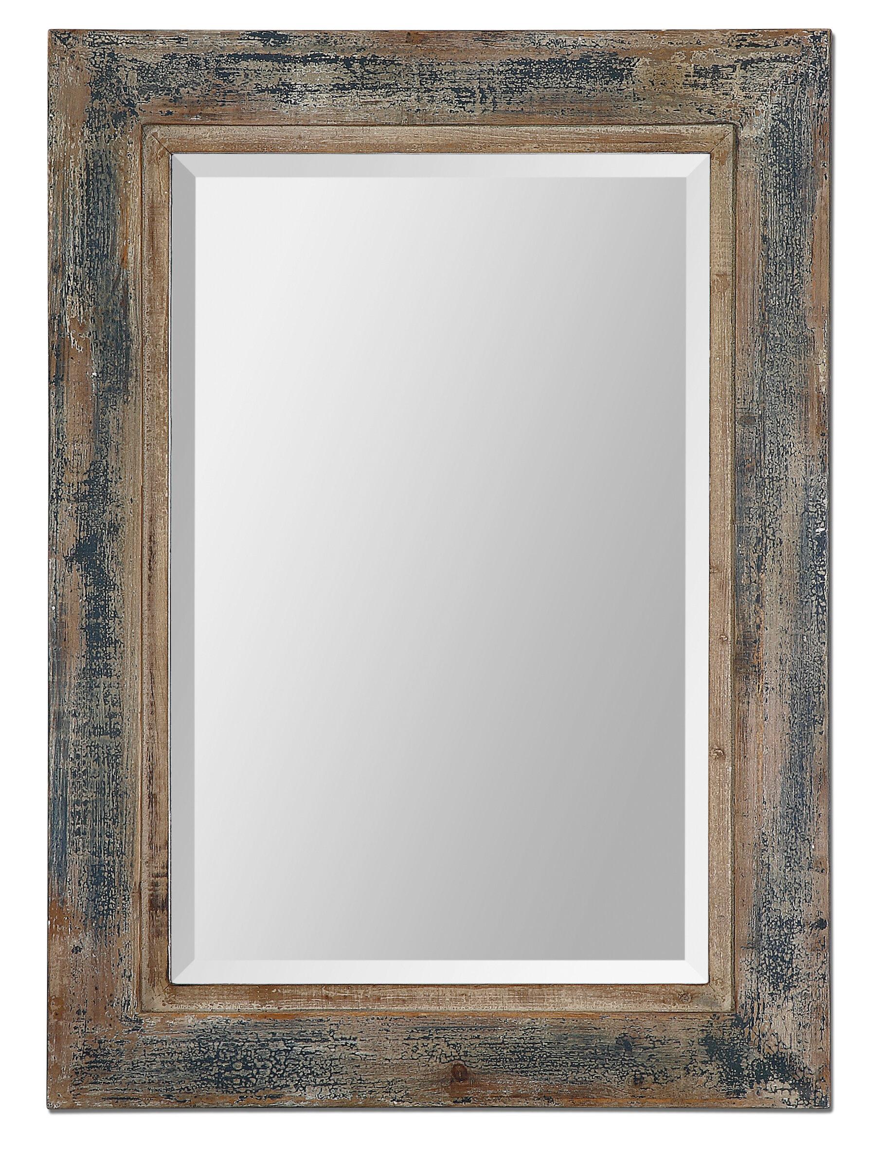 Janie rectangular wall mirror reviews allmodern