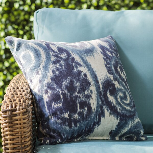 Three Posts Paisley Indoor Outdoor Throw Pillow Reviews Wayfair