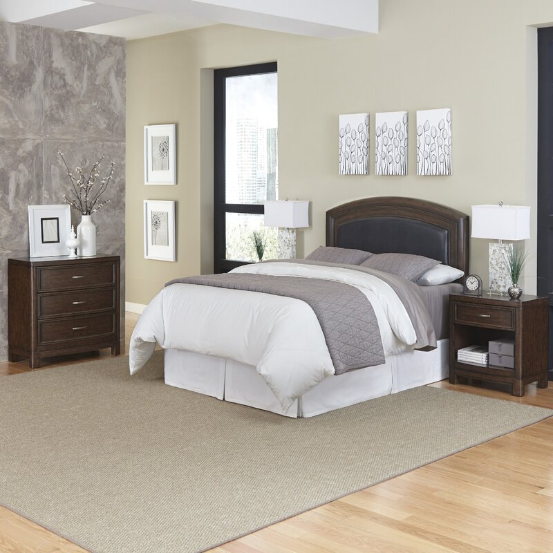Home Styles Crescent Hill Panel 4 Piece Bedroom Set & Reviews ...