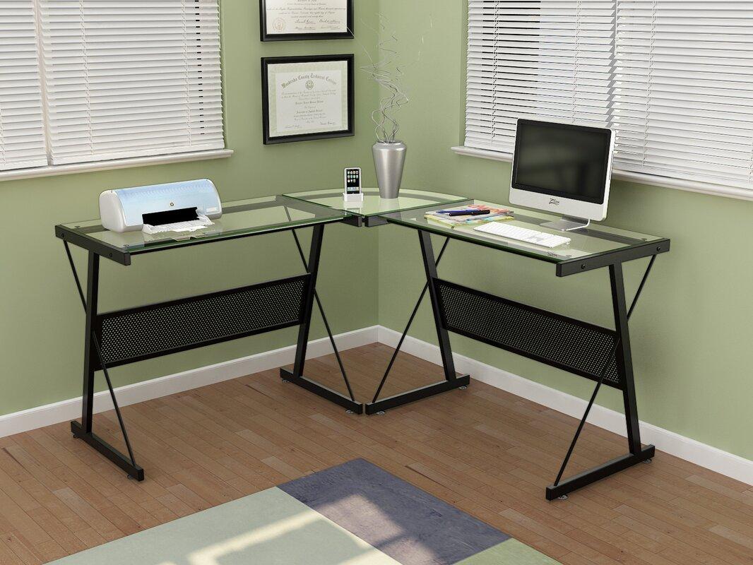 Z Line Designs Skyla L Shape Corner Desk Amp Reviews Wayfair