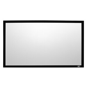 Sable Frame 2 White Fixed Frame Projection Screen
