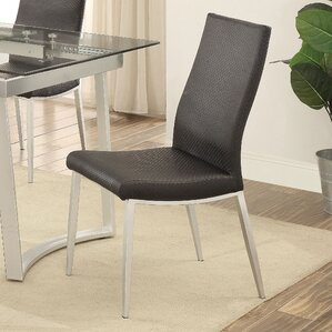 Stone Street Contemporary Side Chair (Set of 2) by Varick Gallery